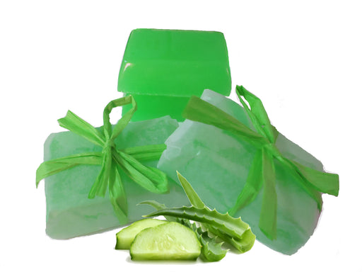 Make Your Own Organic Aloe & Cucumber Soaps Kit