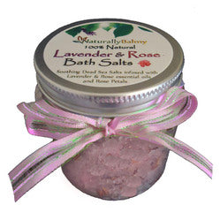 Make Your Own Lavender & Rose Bath Salts Kit (Makes 3)