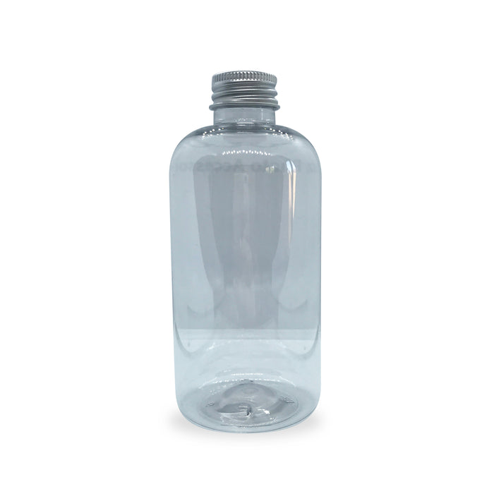 250ml PET Plastic Boston Bottle
