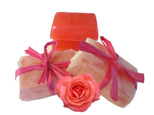 Make Your Own Organic Rose & Sandalwood Soaps Kit