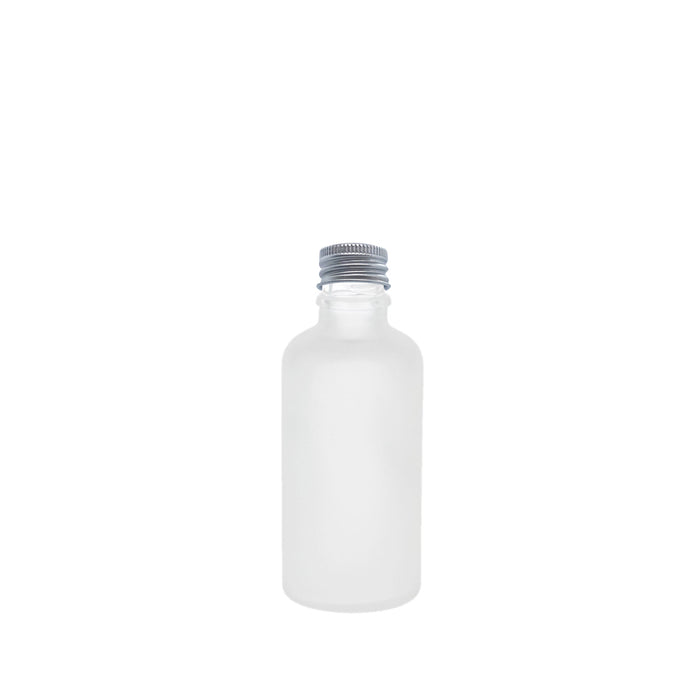 50ml Frosted Glass Bottle
