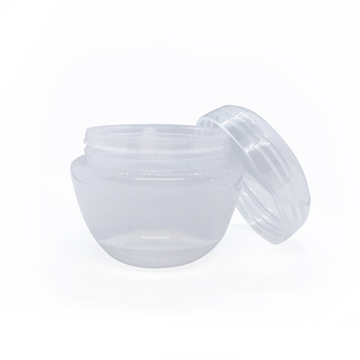 50ml Cosmetic 'Mushroom' Jars with Shive & Lid