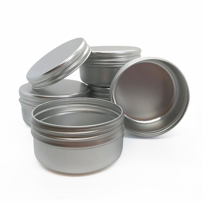50ml Aluminium Screw Lid Tin