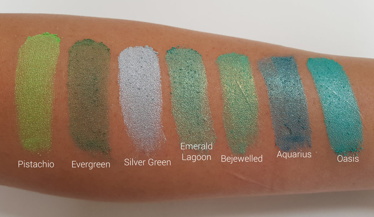 Pearlescent Mica Colour - Emerald Lagoon