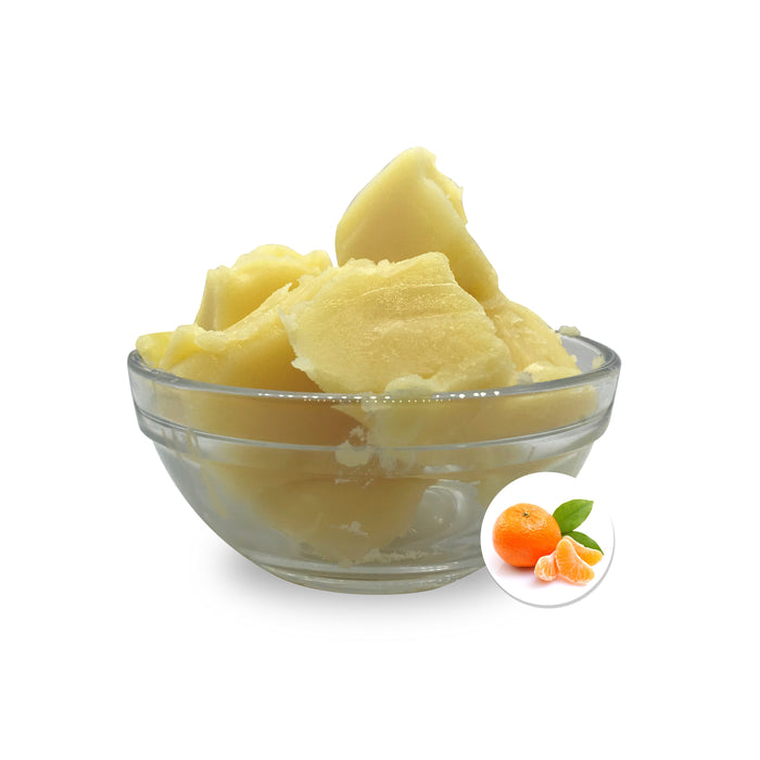 100% Natural, Organic Mandarin Lip Balm Base