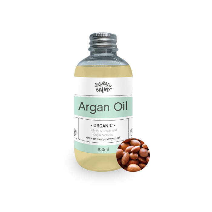 Organic, Cold Pressed Argan Oil