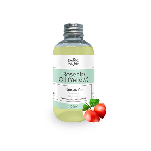 Organic Rosehip Oil (Yellow)