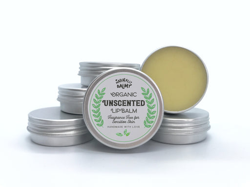 100% Natural, Organic Lip Balm Tins (Wholesale)