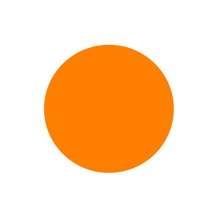 Water Based Orange Colour