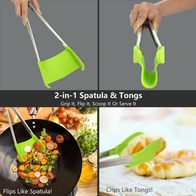 New 2 in 1 Clever Kitchen Spatula