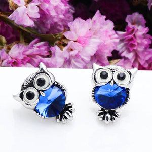 Owl Stud Earrings - Modvaii