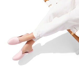 LIMITED TIME SALE Waterproof Loafer Mule - Rose Pink