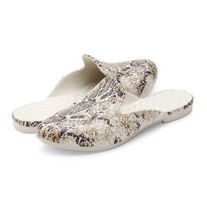 Waterproof Beach Slipper - Snake Print