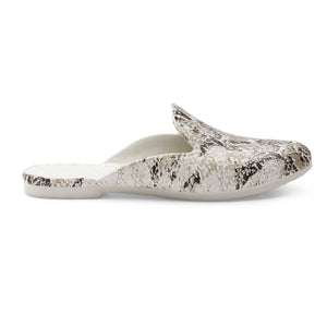LIMITED TIME SALE Waterproof Loafer Mule - Snake