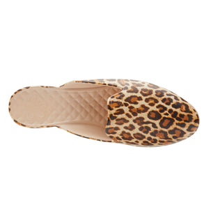 LIMITED TIME SALE  Waterproof Loafer Mule  - Leopard Print