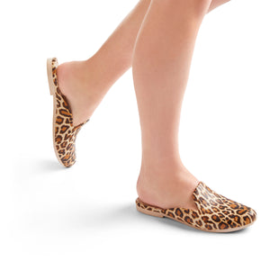 Waterproof Beach Slipper - Leopard Print