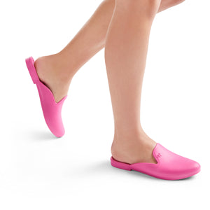 LIMITED TIME SALE Waterproof Loafer Mule- Hot Pink