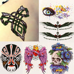 New sex products Design Fashion Temporary Tattoo Stickers Temporary Body Art Waterproof Tattoo Pattern Wholesales Drop Shipping