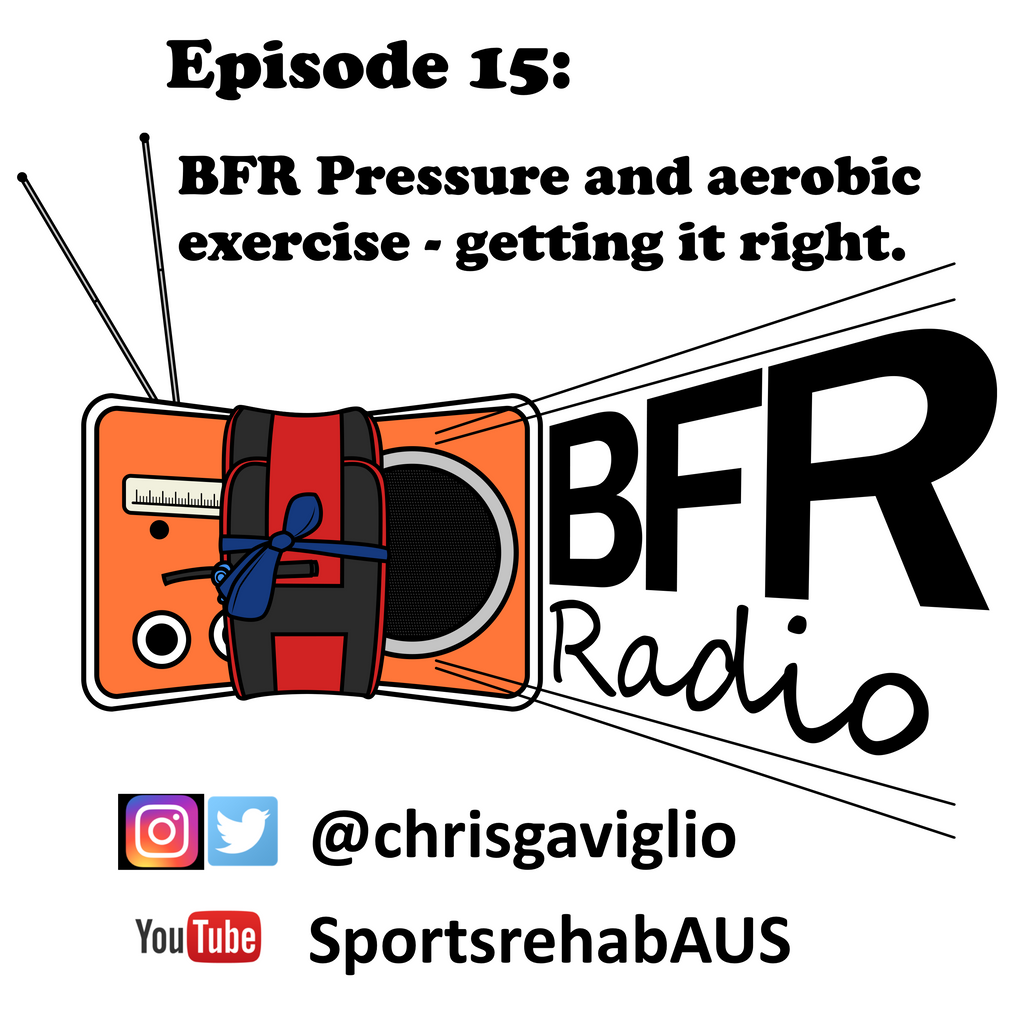 Ep 15. Considerations for optimising BFR pressures during aerobic exercise