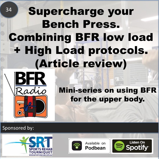 BFR Radio Episode 34 - combining BFR low load and high load protocols. An article review.