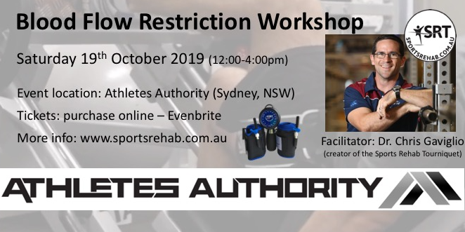 BFR Workshop - Sydney (Sat 13th Oct - link to tickets)