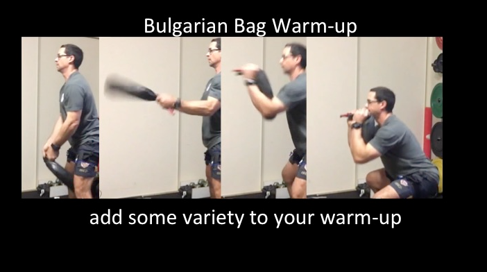 Blood Flow Restriction warmup