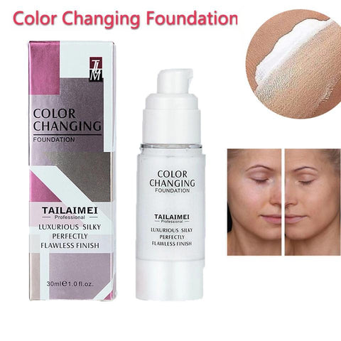 Flawless Foundation - TLM Liquid Color Changing Concealer Foundation