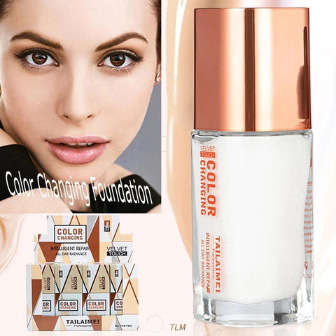 Oil Control Concealer Liquid Foundation - Velvet Touch Oil Controlling Foundation