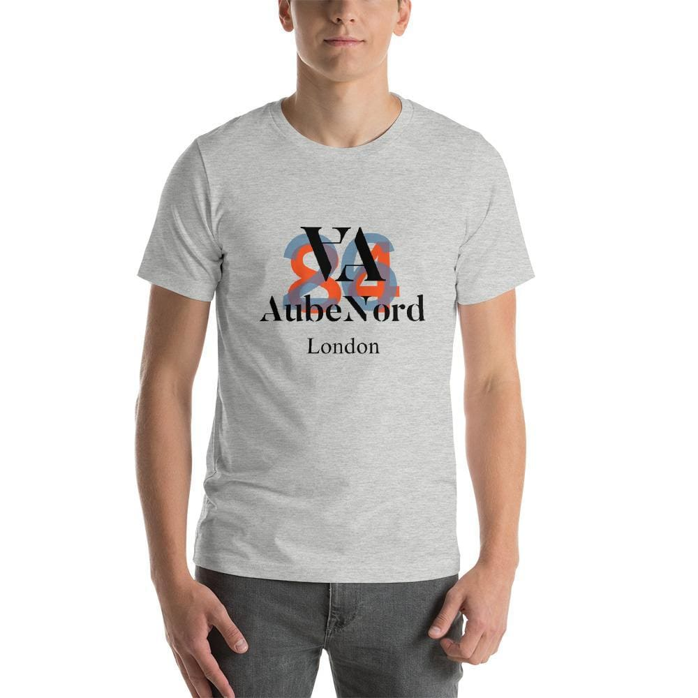 2684 Aubenord Short-Sleeve Mens T-Shirt - Athletic Heather / S - Tshirt