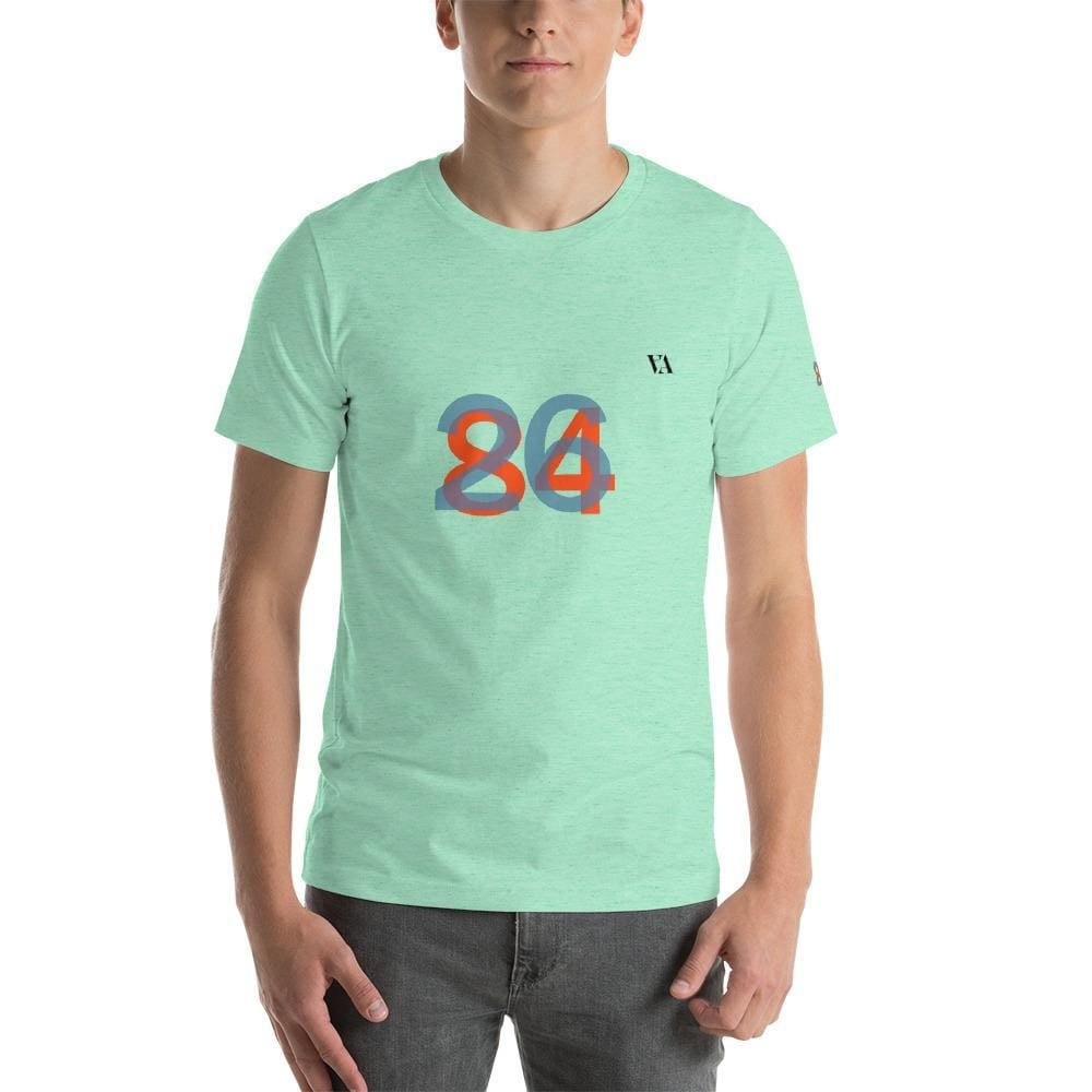 2684 Portobello Short-Sleeve Mens T-Shirt - Heather Mint / S - Tshirt
