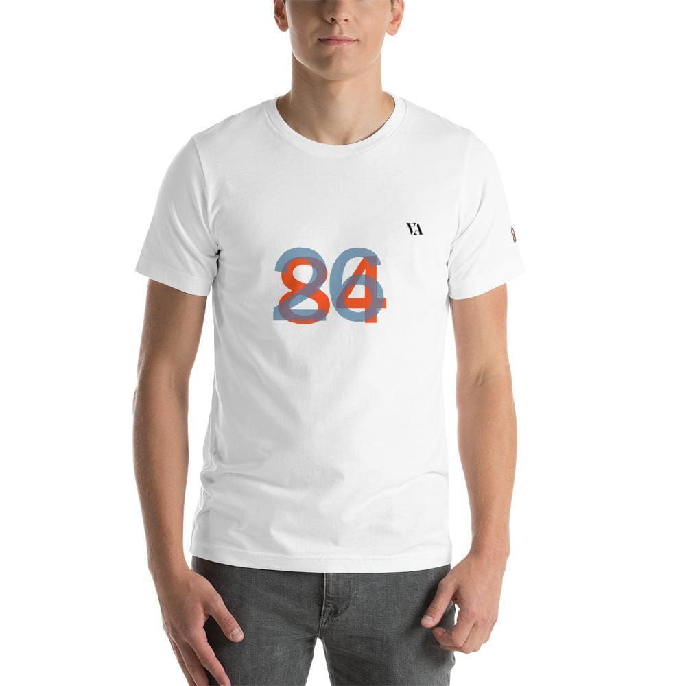2684 Portobello Short-Sleeve Mens T-Shirt - White / S - Tshirt
