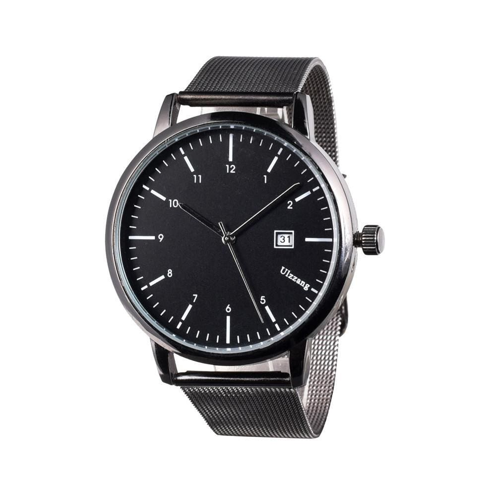 Caledonian Classic Retro Watch - Black / Big - Watches