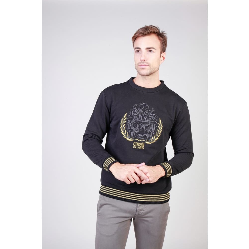 Cavalli Class - B7Jqb78436604_5059_7 - Black / Xl - Clothing Sweatshirts