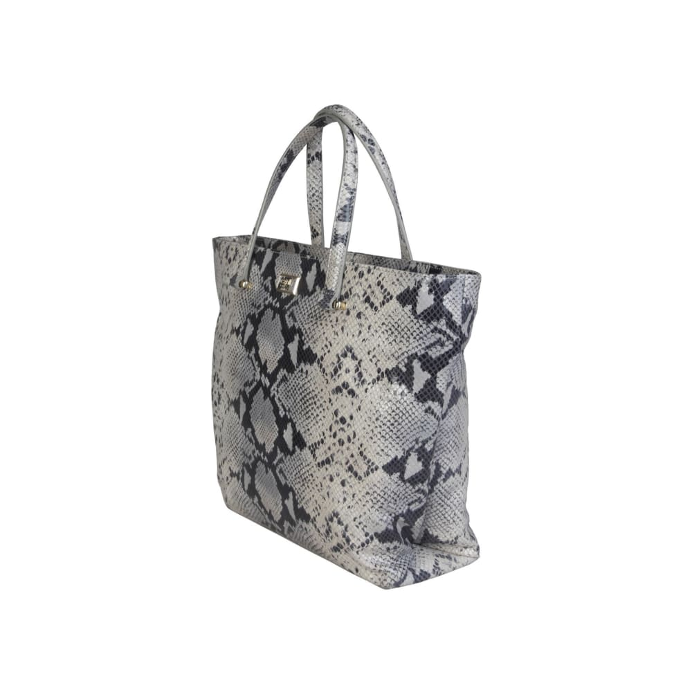 Cavalli Class - Black And Grey Shopping Bag - Bags Handbags
