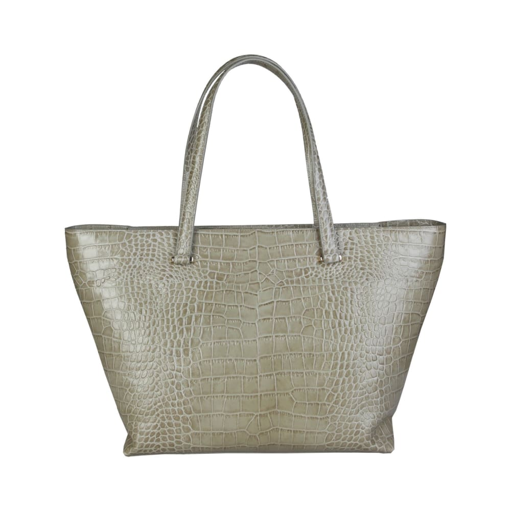 Cavalli Class - Cream Tone Shopping Bag - Bags Shopping Bags