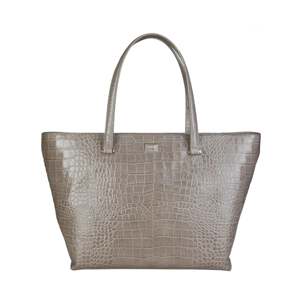 Cavalli Class - Cream Tone Shopping Bag - Grey / Nosize - Bags Shopping Bags