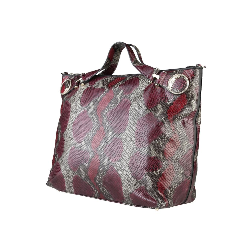 Cavalli Class - Elegant Leather Shopping Bag - Bags Shopping Bags