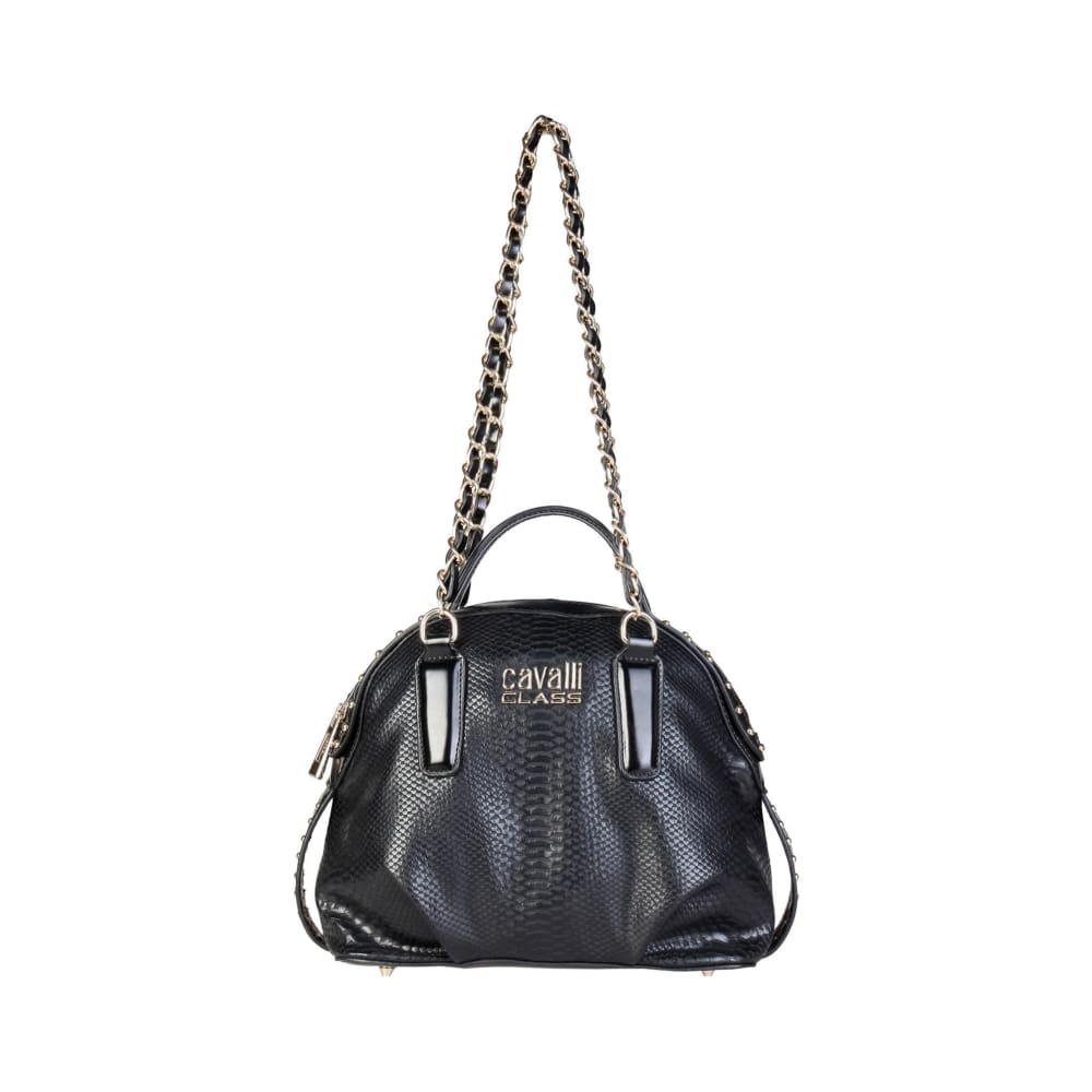 Cavalli Class - Mayfair Long Strap Shoulder Bag - Black / Nosize - Bags Shoulder Bags