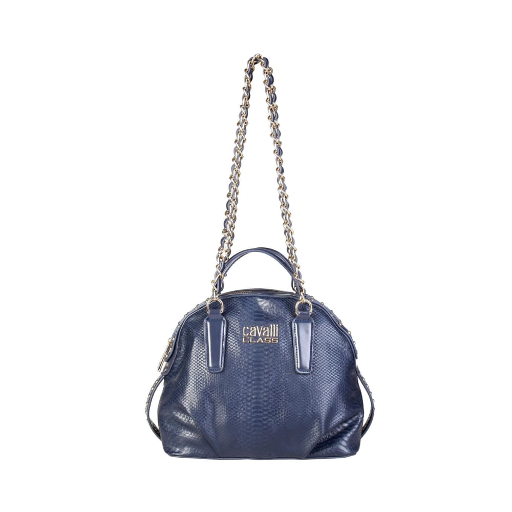 Cavalli Class - Mayfair Long Strap Shoulder Bag - Blue / Nosize - Bags Shoulder Bags