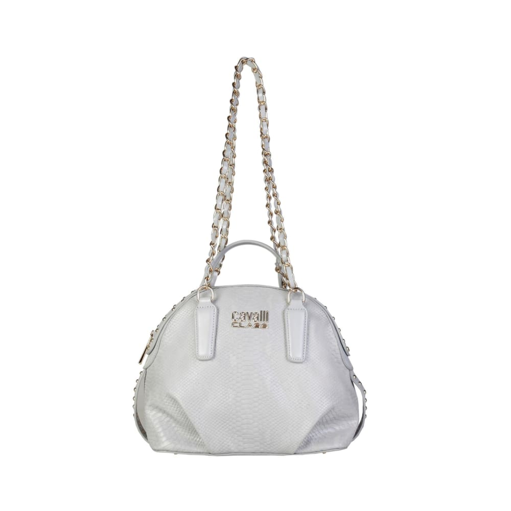 Cavalli Class - Mayfair Long Strap Shoulder Bag - Grey / Nosize - Bags Shoulder Bags