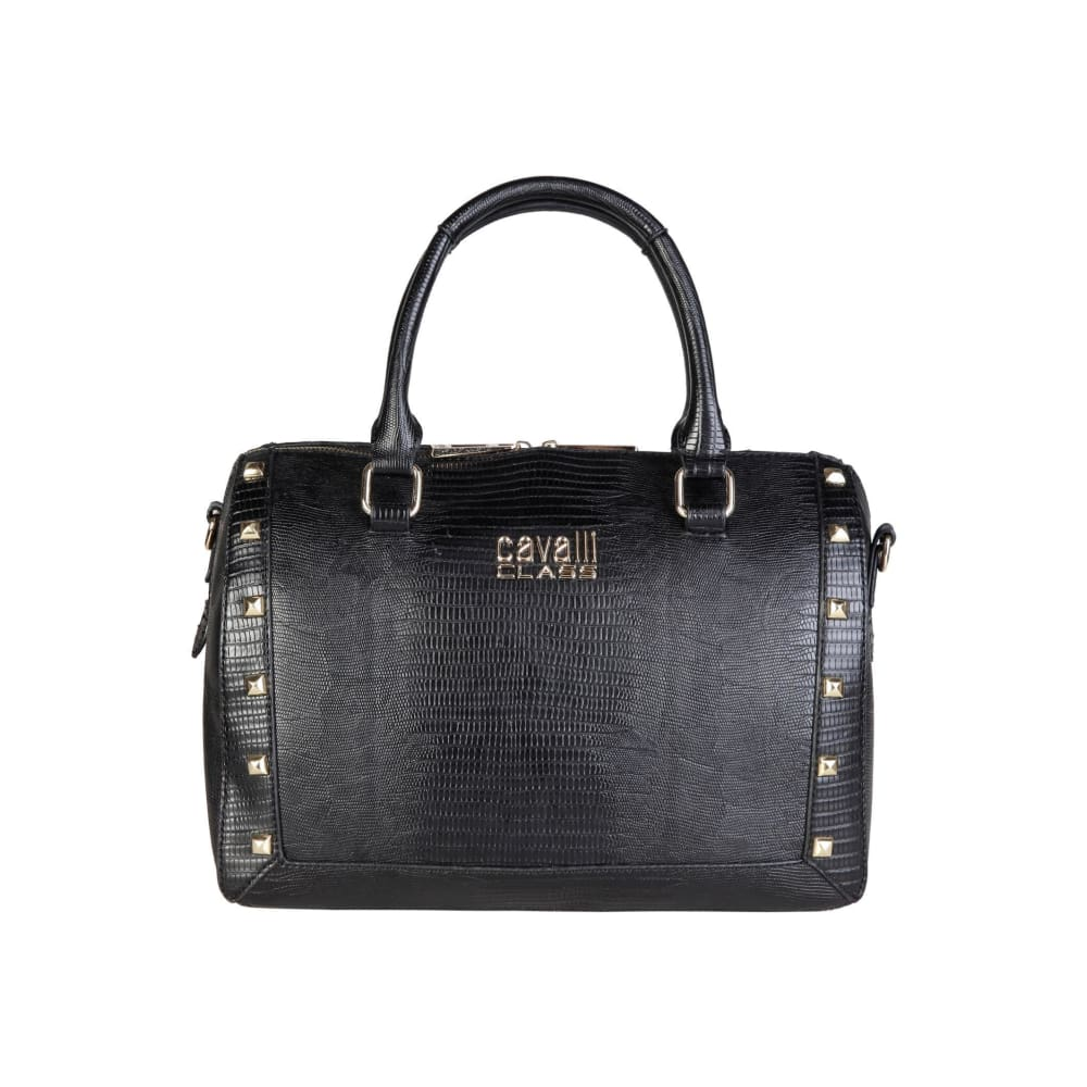 Cavalli Class - Stud Bag - Black / Nosize - Bags Handbags