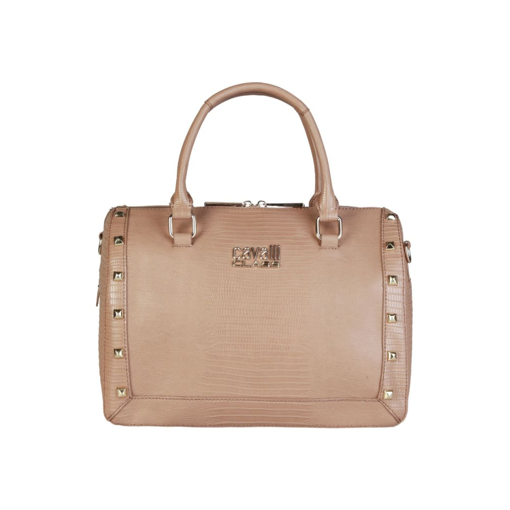 Cavalli Class - Stud Bag - Brown / Nosize - Bags Handbags