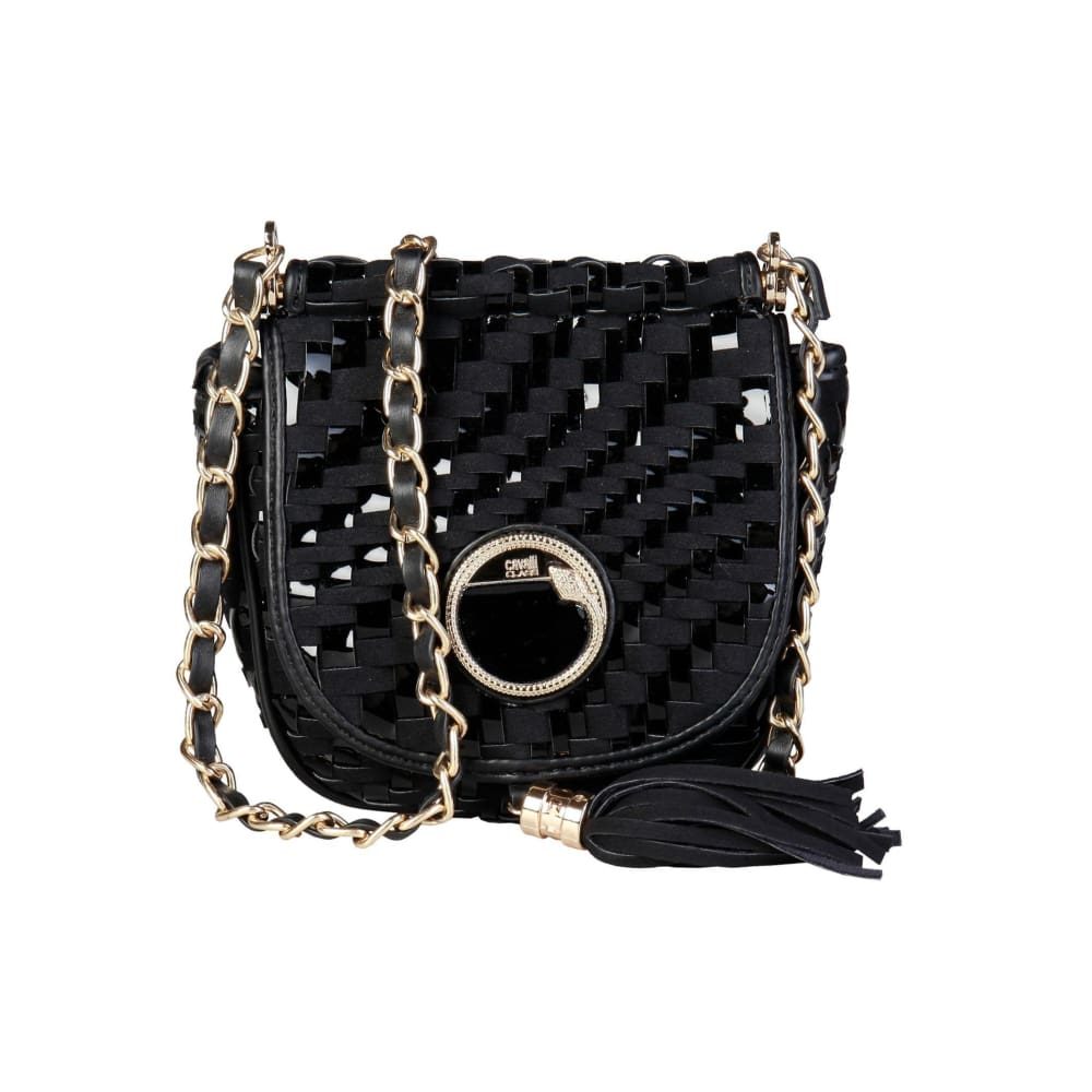 Cavalli Class - Tassel Crossbody Bag - Black / Nosize - Bags Crossbody Bags