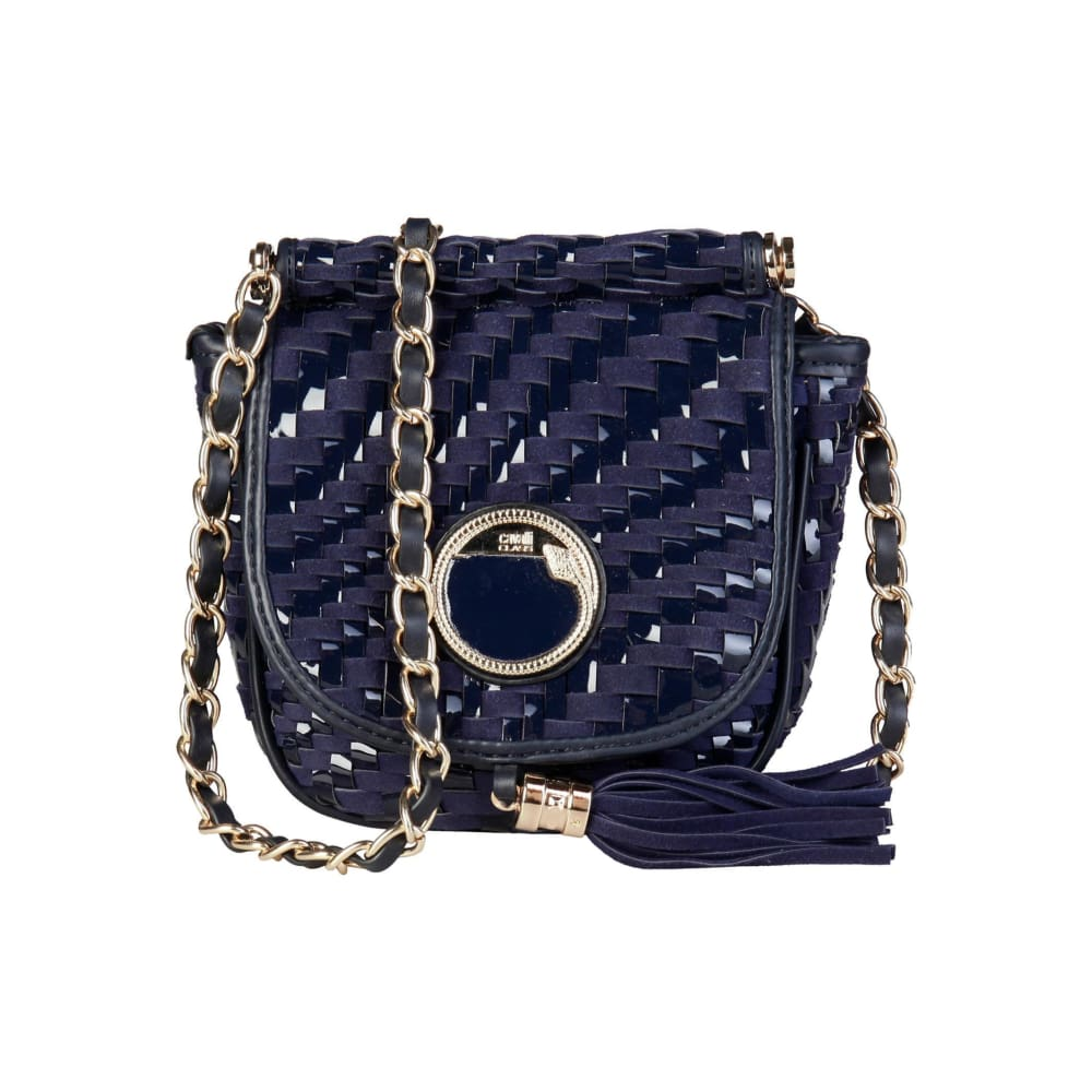 Cavalli Class - Tassel Crossbody Bag - Blue / Nosize - Bags Crossbody Bags