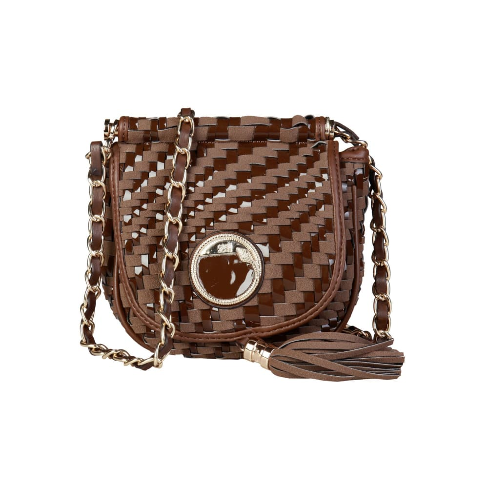 Cavalli Class - Tassel Crossbody Bag - Brown / Nosize - Bags Crossbody Bags