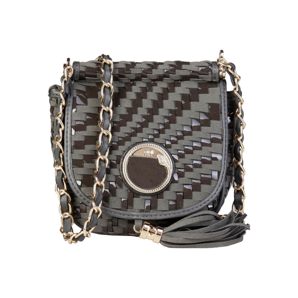 Cavalli Class - Tassel Crossbody Bag - Grey / Nosize - Bags Crossbody Bags