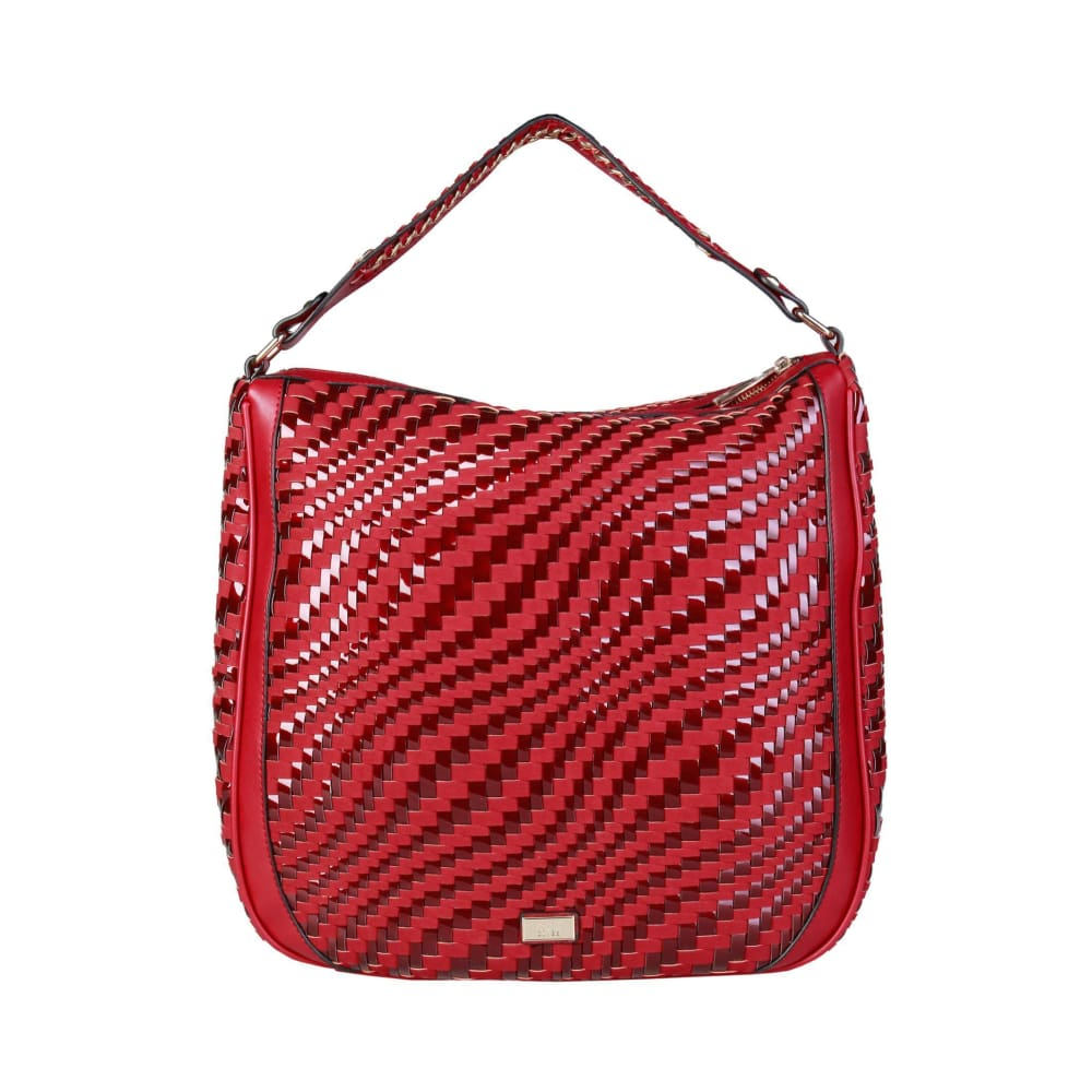 Cavalli Class - Wave Handbag - Red / Nosize - Bags Shoulder Bags