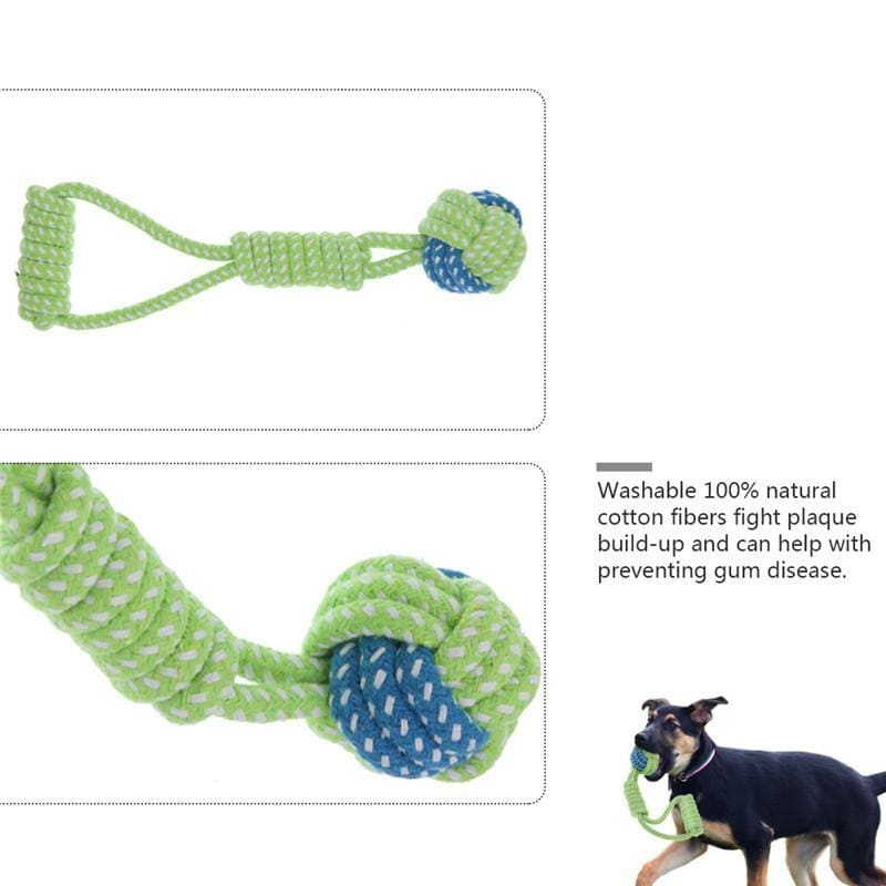 Chewing Knot Rope Toy - Dog Toys