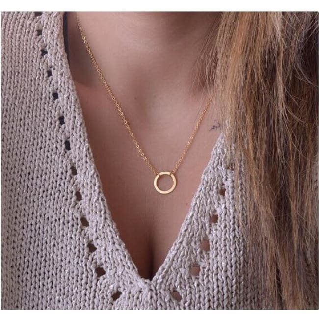 Chic Geometric Pendants - Xl0001