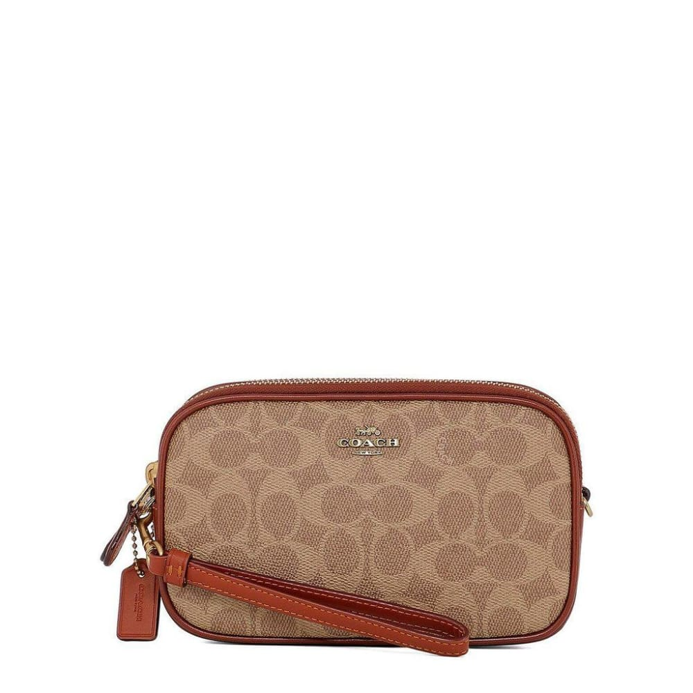 Coach - 011 - Brown / Nosize - Bags Clutch Bags